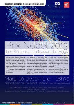 Plaquette de la conférence sur le boson de Higgs