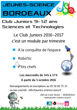 Affiche Club Juniors 2016–2017