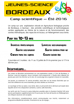 Stages d'Été 2016 (3)