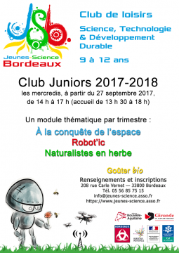 Affiche Club Juniors 2017–2018