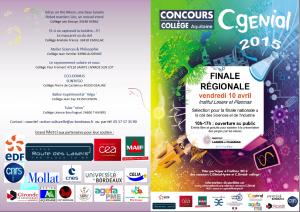 Concours C.Génial JSB