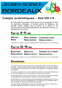 Flyer Camps Ete 2014 recto