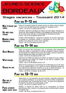 Flyer Tousaint 2014 recto