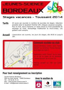 Flyer Toussaint 2014 verso
